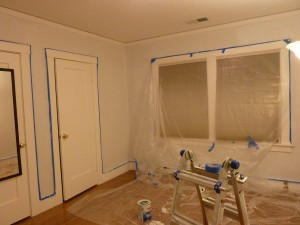 Red Room Renovation - Ready for Painting