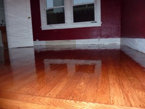 Red Room Renovation - Flooring