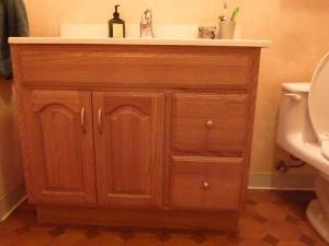 New hall bath hardware